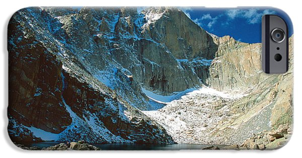 Chasm Lake IPhone Case by Eric Glaser