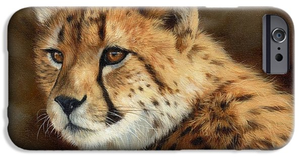 Cheetah IPhone 6s Case by David Stribbling