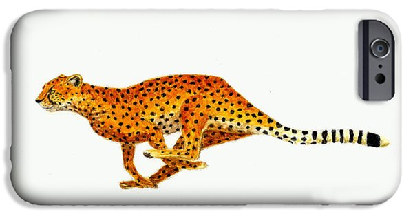 Cheetah IPhone 6s Case by Michael Vigliotti