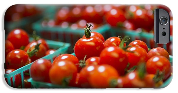 Cherry Tomatoes IPhone Case by Caitlyn  Grasso