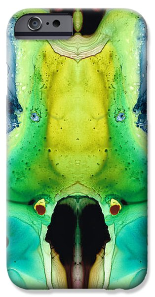 Chi Ant - Aka Mr Happy Bug By Sharon Cummings IPhone Case by Sharon Cummings