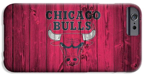Chicago Bulls Barn Door IPhone Case by Dan Sproul