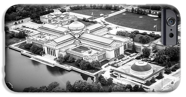 Chicago Museum Of Science And Industry Aerial View IPhone 6s Case by Paul Velgos