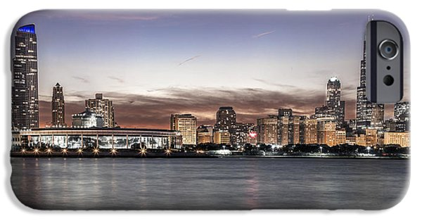 Chicago Sunset IPhone Case by John McGraw