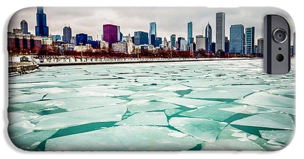 Chicago Winter Skyline IPhone 6s Case by Paul Velgos