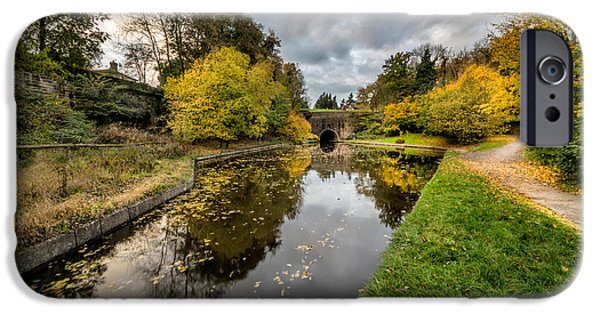Chirk Canal IPhone Case by Adrian Evans