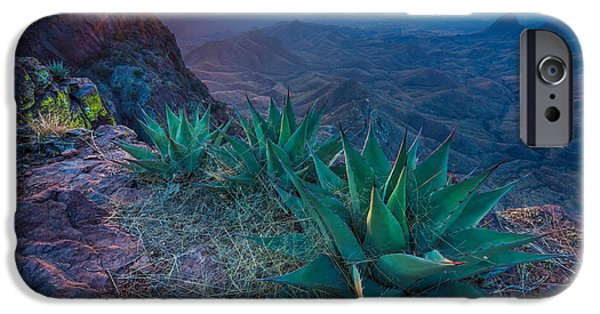 Chisos Dawn IPhone Case by Inge Johnsson