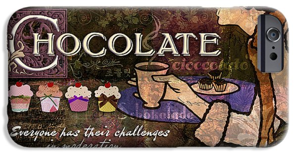 Chocolate IPhone Case by Evie Cook