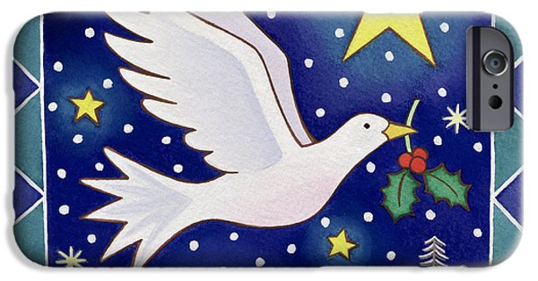 Christmas Dove  IPhone 6s Case by Cathy Baxter