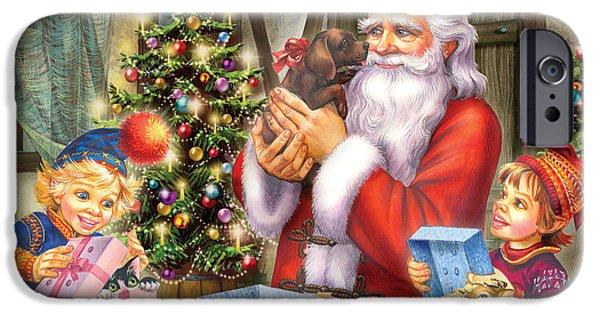 Christmas Eve IPhone Case by Zorina Baldescu