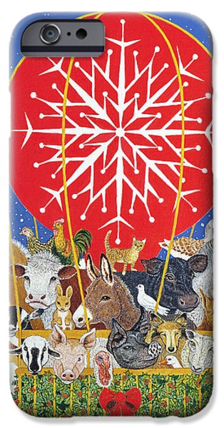 Christmas Journey Oil On Canvas IPhone 6s Case by Pat Scott