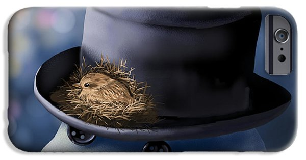 Christmas Nest IPhone Case by Veronica Minozzi