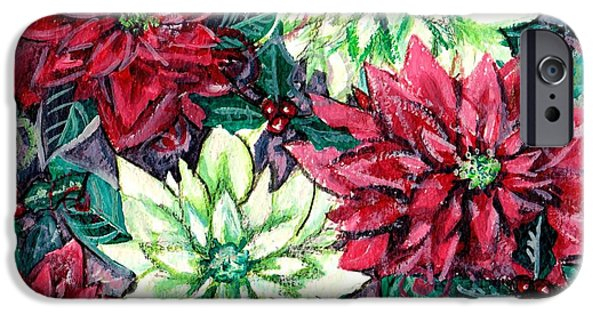 Christmas Splendor IPhone Case by Shana Rowe Jackson