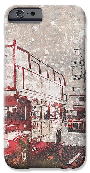 City-art London Red Buses II IPhone 6s Case by Melanie Viola