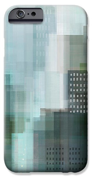 City Emerald IPhone Case by Dan Meneely