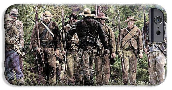 Civil War No 2 IPhone Case by Marcia Lee Jones