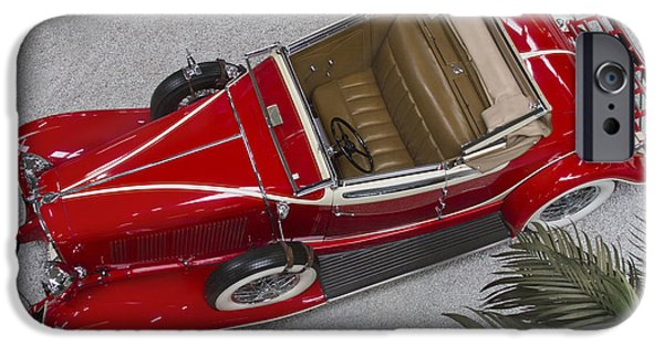 Classic Auburn Convertible Coupe IPhone Case by Heiko Koehrer-Wagner