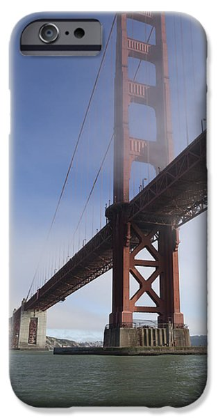 Classic Golden Gate IPhone Case by Scott Campbell