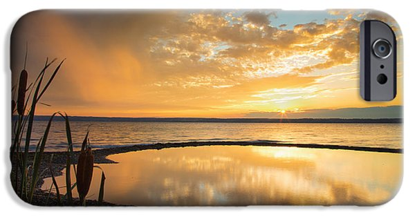 Clearing Rainstorm IPhone Case by Michele Steffey