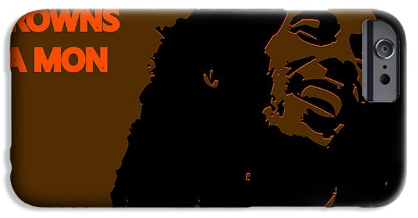 Cleveland Browns Ya Mon IPhone Case by Joe Hamilton