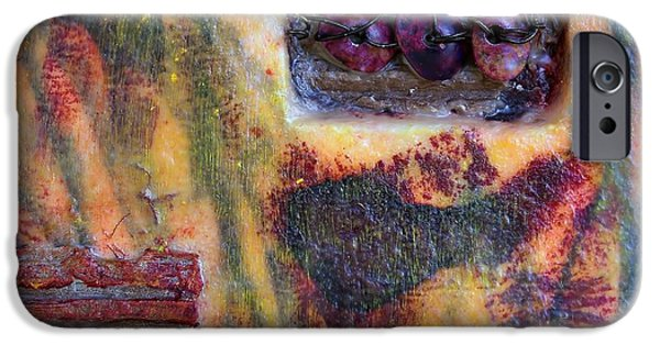 Coin Of The Realm Encaustic IPhone Case by Bellesouth Studio