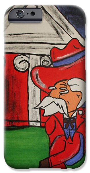 Col Reb IPhone Case by Lisa Collinsworth