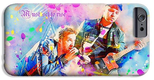 Coldplay Lyrics IPhone 6s Case by Rosalina Atanasova