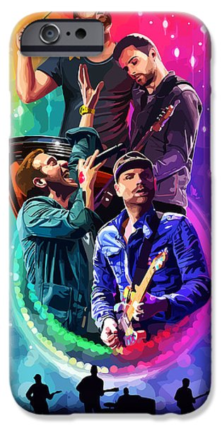 Coldplay Mylo Xyloto IPhone 6s Case by FHT Designs