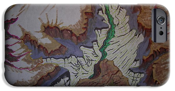 Colorado River Grand Canyon IPhone Case by Mike Dendinger