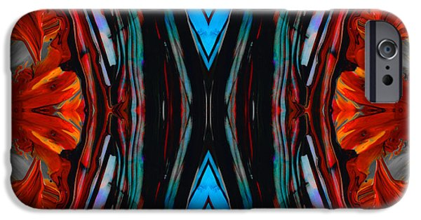 Colorful Abstract Art - Expanding Energy - By Sharon Cummings IPhone Case by Sharon Cummings