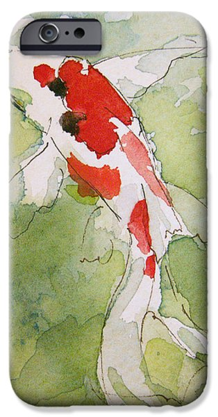 Colorful Fantail Goldfish 3 IPhone Case by Tracie Thompson