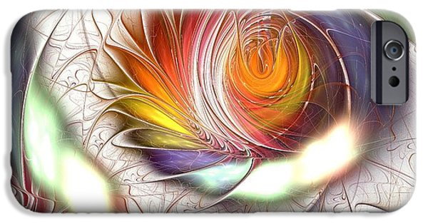 Colorful Promenade IPhone Case by Anastasiya Malakhova