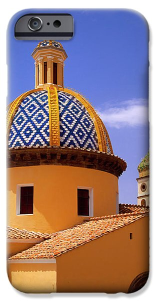 Colorful Tiled Dome Of Chiesa San IPhone Case by Brian Jannsen