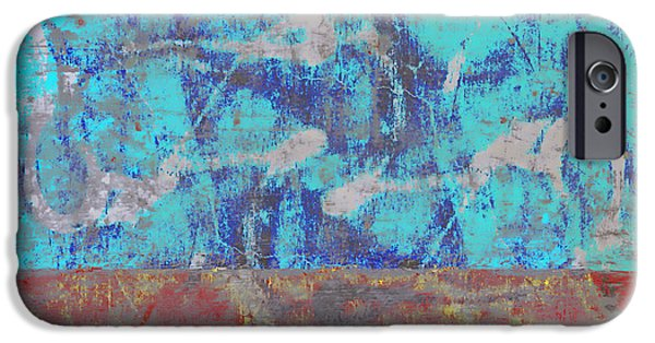 Colorful Walls Number 1 IPhone Case by Carol Leigh