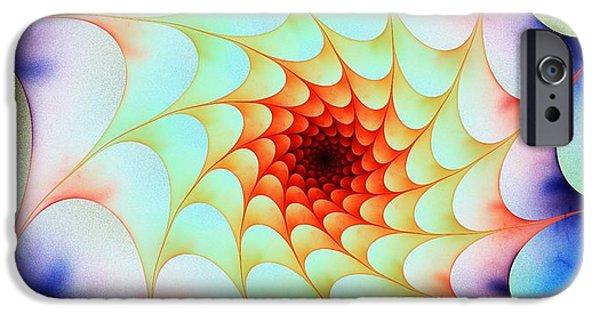 Colorful Web IPhone Case by Anastasiya Malakhova
