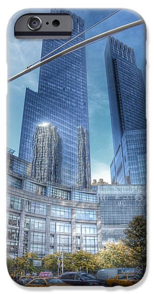 New York - Columbus Circle - Time Warner Center IPhone 6s Case by Marianna Mills