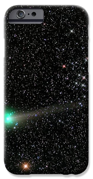 Comet C2013 R1 And Star Cluster M44 IPhone Case by Damian Peach