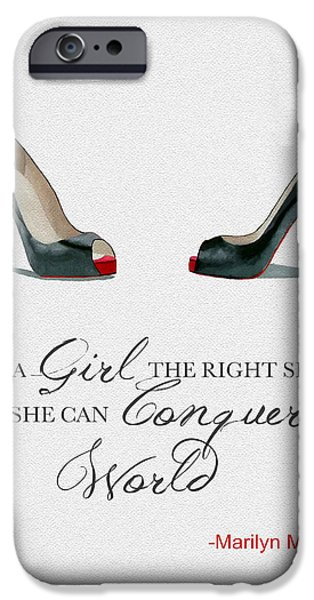 Conquer The World IPhone 6s Case by Rebecca Jenkins
