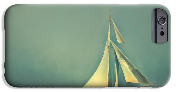 Cool Blue Sea IPhone Case by Lonnie Christopher