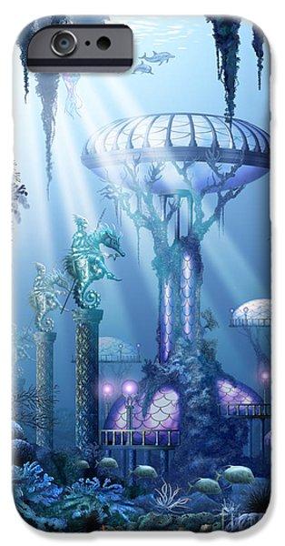 Coral City   IPhone Case by Ciro Marchetti