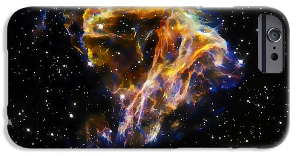 Cosmic Heart IPhone Case by The  Vault - Jennifer Rondinelli Reilly