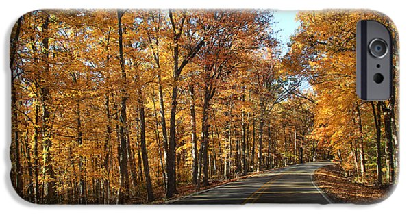 Country Road 2 IPhone Case by Andrea Kappler