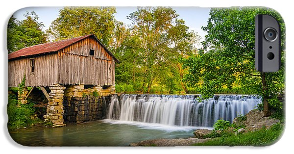 Cowans Mill Summer Evening IPhone Case by Anthony Heflin