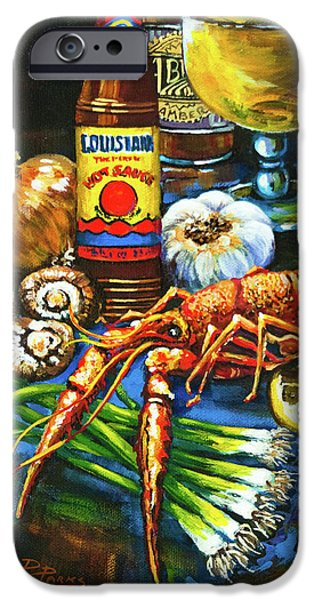 Crawfish Fixin's IPhone 6s Case by Dianne Parks