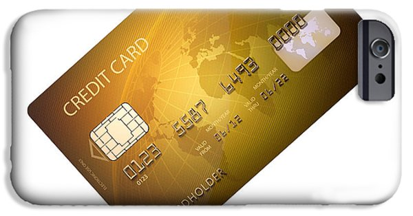 Credit Card IPhone Case by Johan Swanepoel