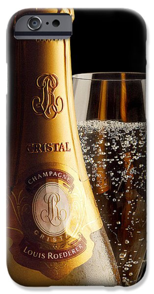 Cristal Party IPhone Case by Jon Neidert