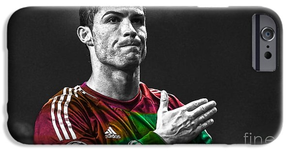 Cristiano Ronaldo IPhone 6s Case by Marvin Blaine