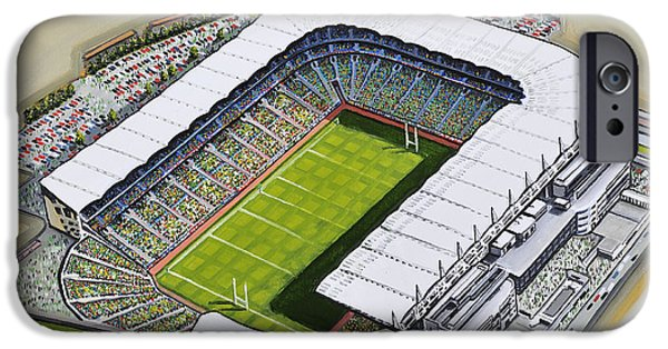 Croke Park IPhone Case by D J Rogers