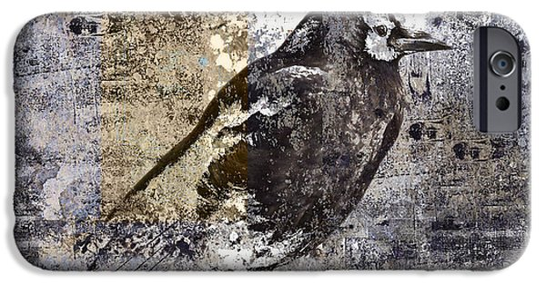 Crow Number 84 IPhone 6s Case by Carol Leigh