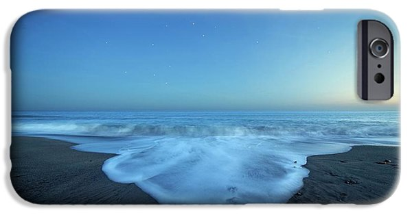 Crux Constellation Over Coastal Waters IPhone Case by Luis Argerich